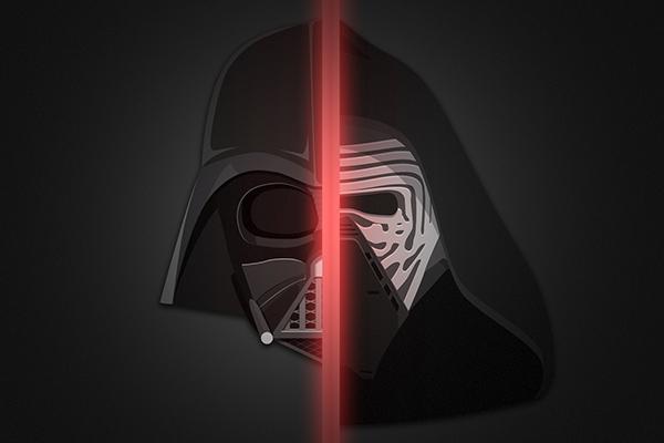 Darth Vader & Kylo Ren