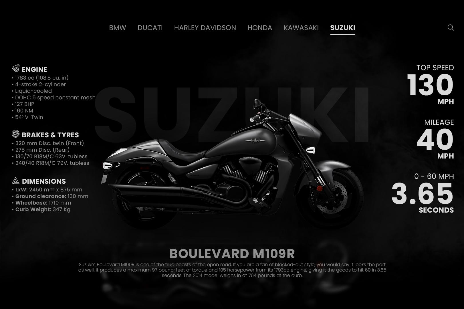 Motorcycles Homepage