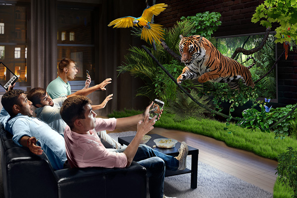 Augmented Reality TV
